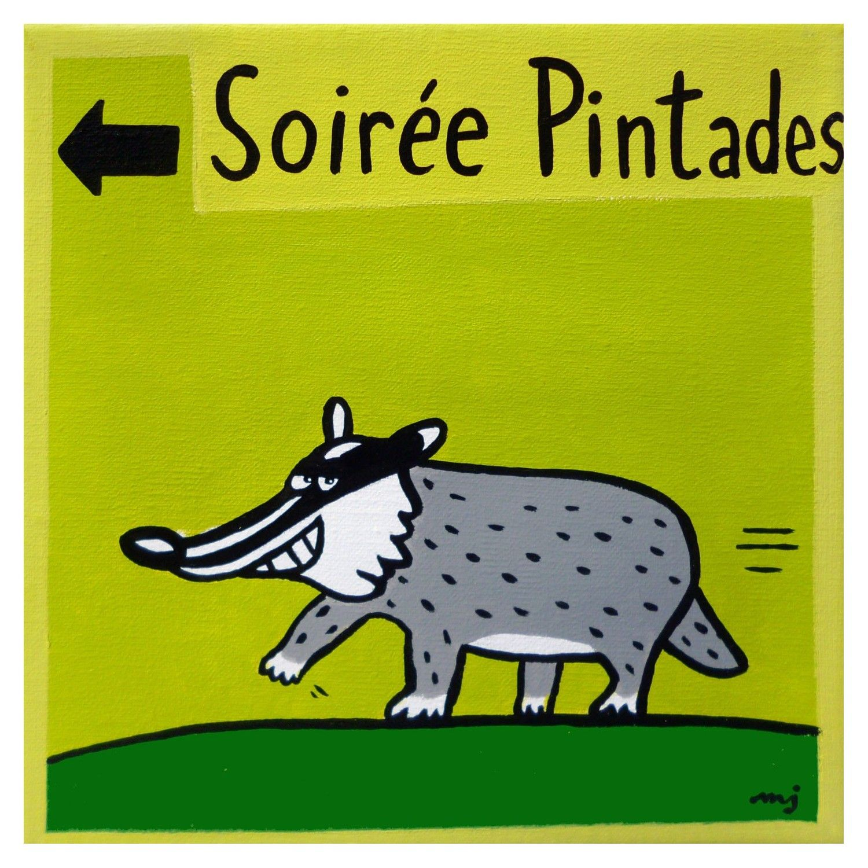 SOIREE PINTADES