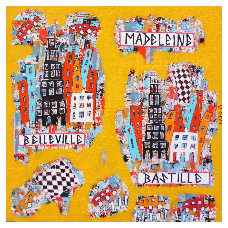 VILLE 15 - MADELEINE-BELLEVILLE-BASTILLE