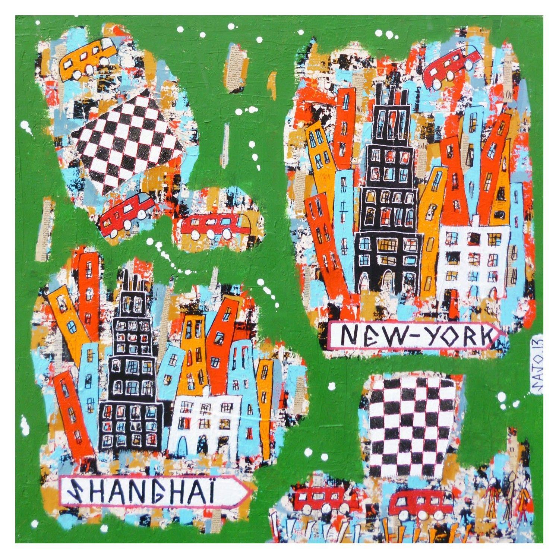 VILLE 18 - SHANGHAI-NEW YORK