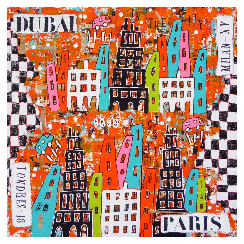 VILLE 9 - DUBAÏ-MILAN-LONDRES-PARIS