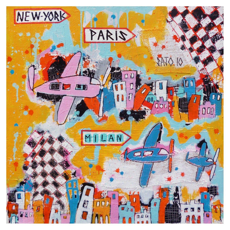 VILLE 24 - NEW YORK - PARIS - MILAN