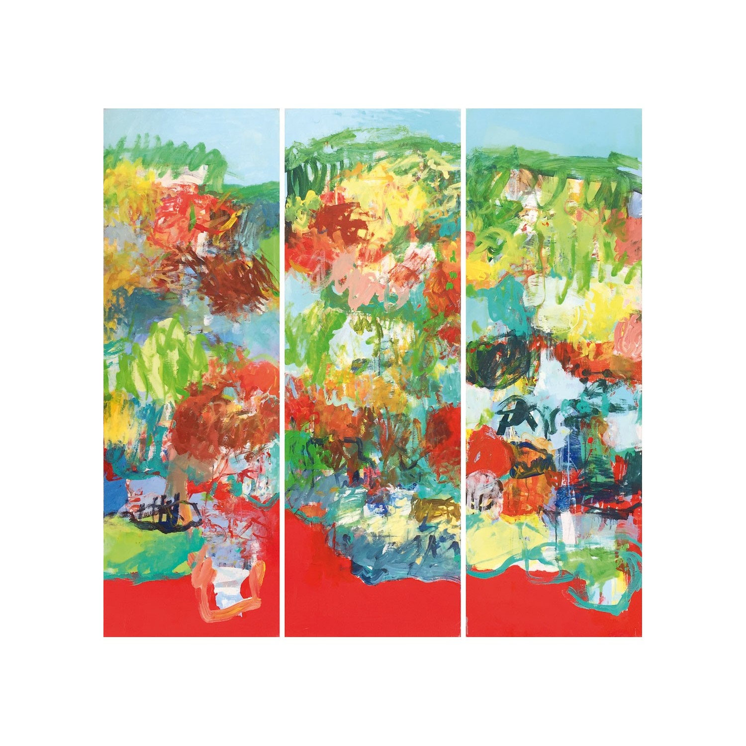 GIVERNY 1, 2 & 3 (triptyque-3 formats 100x50cm)